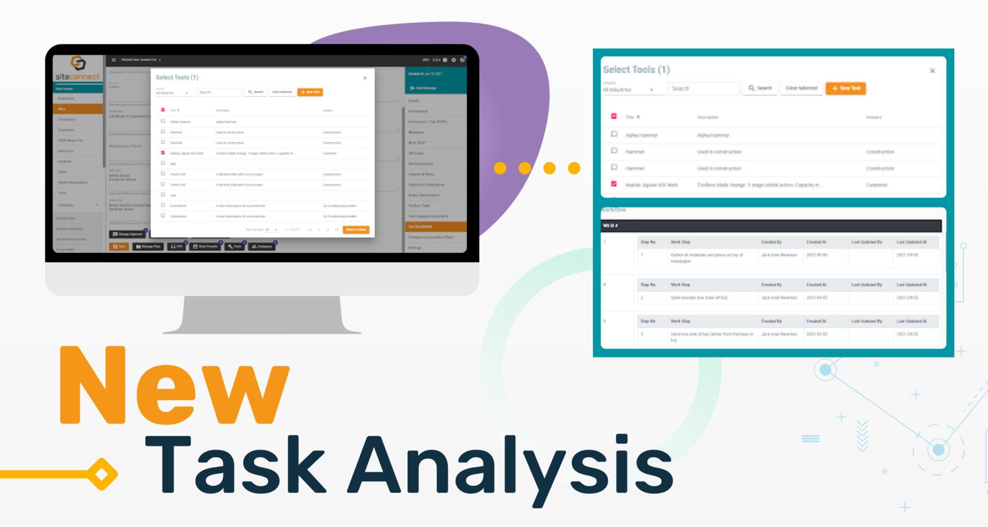 New Feature Task Analysis TA